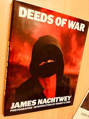 Deeds of War -  James Nachtwey 1989 - Photography Book