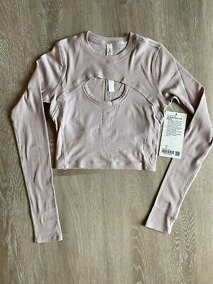 Nwt Lululemon LA Better Best Long Sleeve Size 4