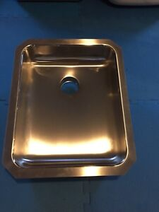 Commercial sink stainless steel