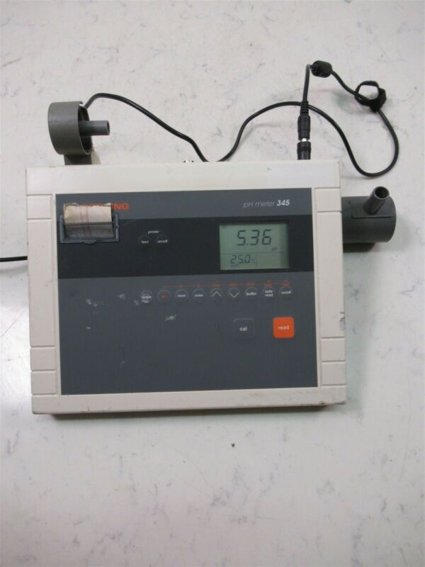 Corning pH Meter 345 Digital Laboratory Unit
