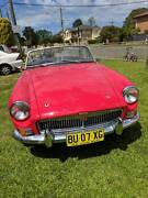 1968 MGB Newly painted and upholstered Toongabbie Parramatta Area Preview