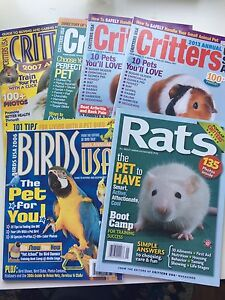 Small animal magazines and Critters USA