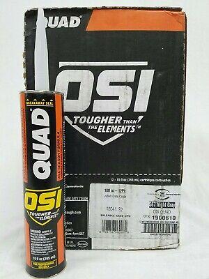12 Pack OSI QUAD 1900610 10 oz. 567 Night Grey Window Door Siding -