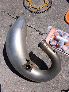 Ktm 125 parts, expansion chamber, muffler, tools and more Redcliffe Redcliffe Area Preview