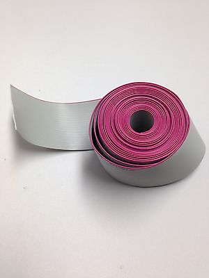Flat Cable 20 Pin 20 Wires Idc Ribbon 6 Ft. Long 25mm Wide
