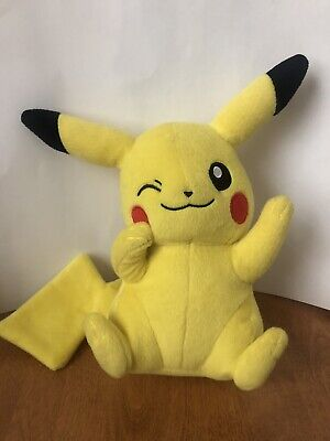 "TOMY 8"" Pokemon Pikachu Plush - No Hang Tag"