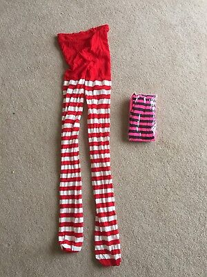 Fancy Dress Tights - 2 pairs - Fancy Dress Pairs