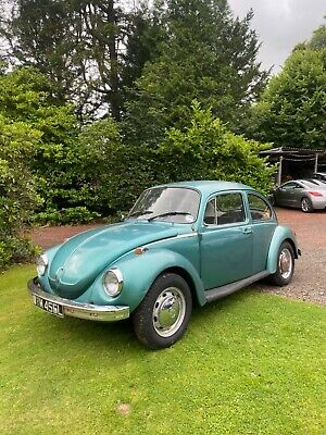 1973 VW Beetle 1303 barn find original classic starts and drives 1600cc engine