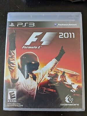 F1 2011 Brand New Sealed Free Shipping Sony PlayStation 3 PS3 comprar usado  Enviando para Brazil