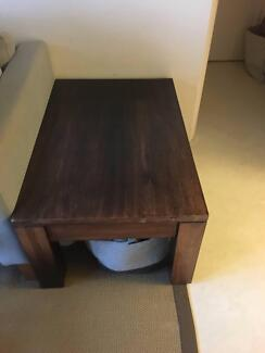 Wooden Coffee Table (Originally $640) Immaculate condition