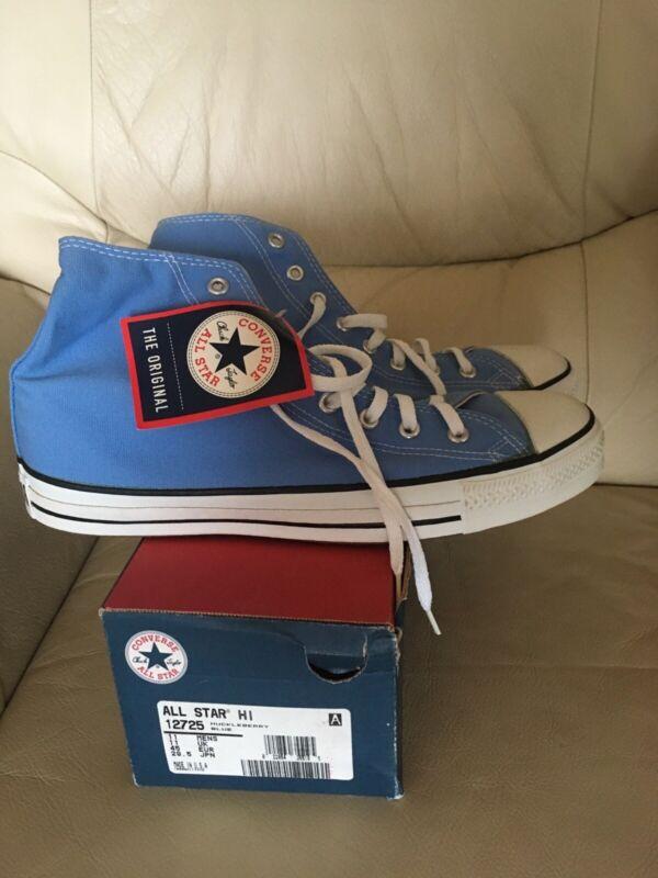 Vintage Converse All Star Hugkleberry Blue Canvas USA Made Mens 11