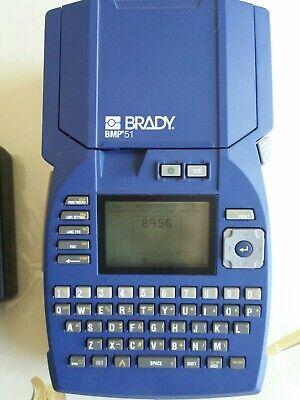 Brady Bmp51 Label Thermal Printer