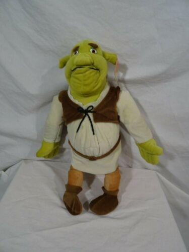 """Dreamworks Shrek 2 Ogre  Plush 19"""" NWT"""