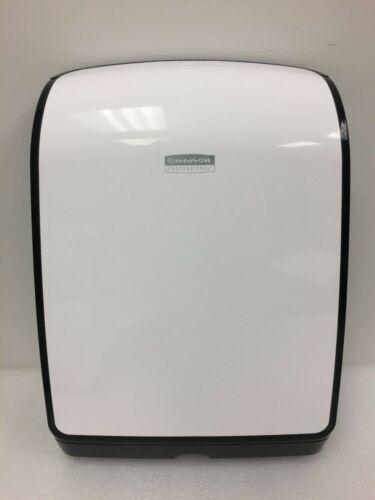Kimberly Clark Professional Slim Fold Paper Towel Dispenser 34830 White Black