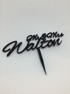 Laser Cut Cake Topper Muswellbrook Muswellbrook Area Preview