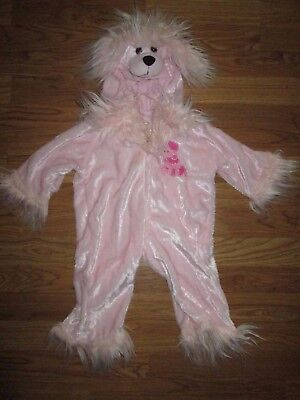Girls PLAYFUL PLUSH PINK POODLE DOG Halloween Costume 12 - 18 months by - Girls Dog Costume
