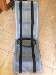 Duralife Adjustable Bath Chair with Curved Seat and Back
