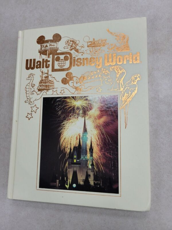 Walt Disney World Picture Book Hardcover Souvenir Epcot Center MGM 1989