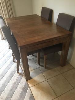 Solid Dining Table - SHACK Mango Hardwood RRP $1195