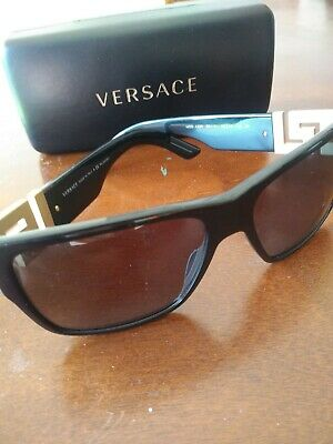 Versace men's polarized sunglasses model 4296 gb1/81