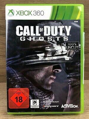 FSK18 • Xbox 360 Spiel • Call of Duty Ghosts • Guter Zustand #M39