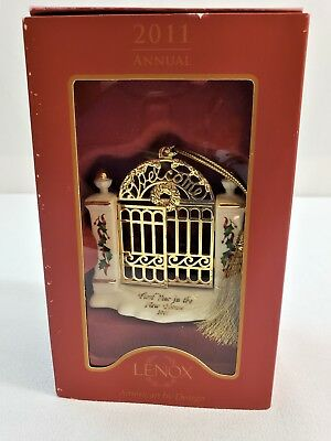 LENOX 2011 First Year in the New Home Christmas Ornament New in Original