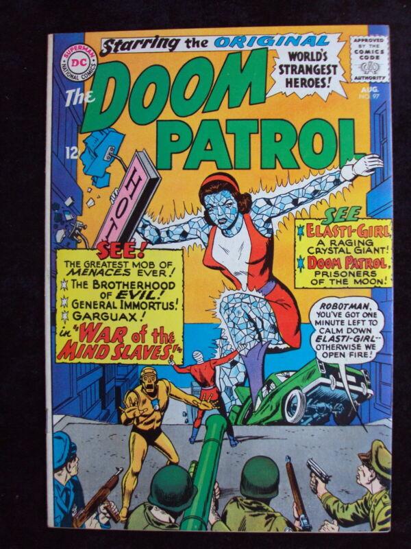 DOOM PATROL #97 DC COMICS SILVER AGE 1965