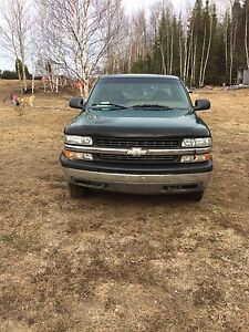 1999 Chevy half ton parts truck