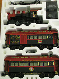 Jack-Daniels-Aristocraft-G-Scale-Full-Train-Set-EXTREMELY-RARE-FIND