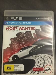 Need for speed nfs most wanted ps3 playstation 3 Broadmeadows Hume Area Preview
