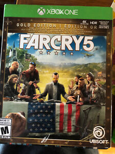 Far Cry 5 GOLD EDITION MINT CONDITION