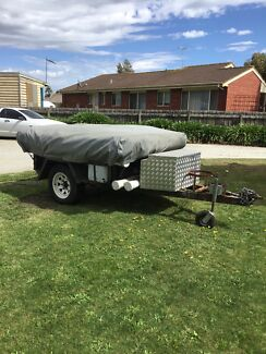 (SOLD) Off Road Camper Trailer