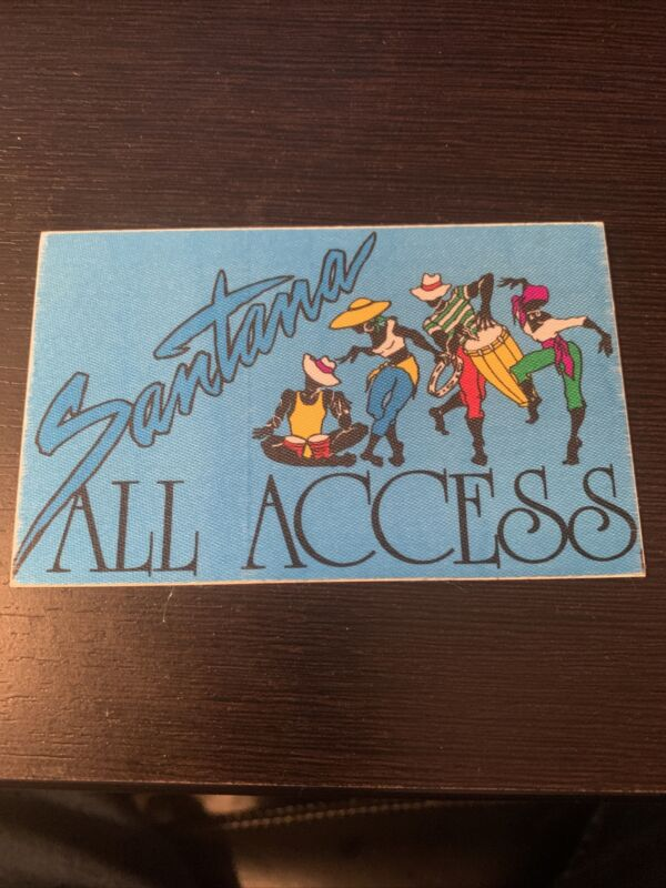 Santana Tour All Access  Pass