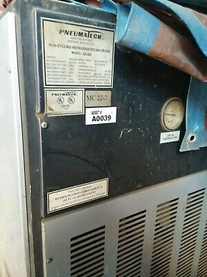 Used Pheumatech Refrigerated Air Dryer
