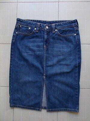 RARE Levi's 00533 Gonna VINTAGE Jeans Skirt юбка Rock jupe  falda Tg / SIZE L segunda mano  Embacar hacia Argentina