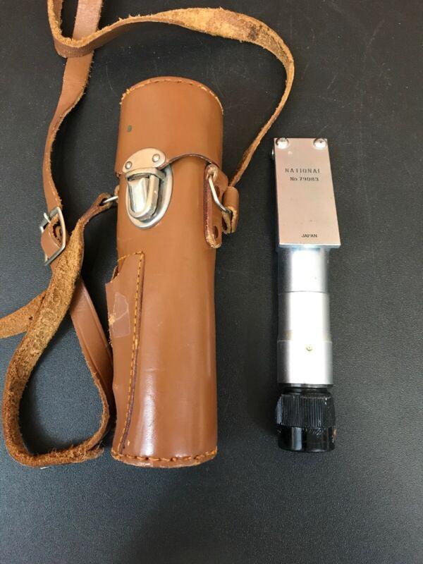 National Pocket Refractometer No.79083 Made In Japan W/ Original Case