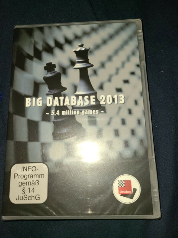 CHESSBASE - BIG DATABASE 2013
