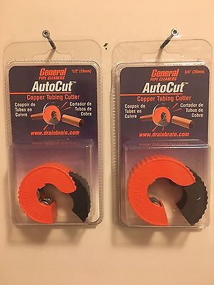 General Pipe Cleaners Autocut Copper Tubing Cutter 12 And 34