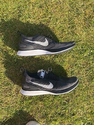 Nike Air Zoom Mariah Flyknit Racer Trainers Black classic lace up fastening wire