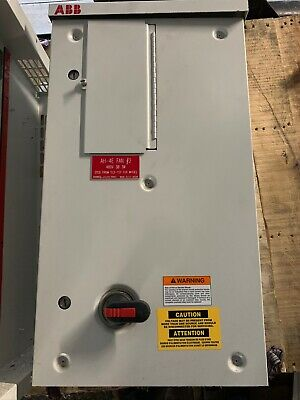 ABB 15hp Variable Drive ACH550-BCR-023A-4+B058+F267