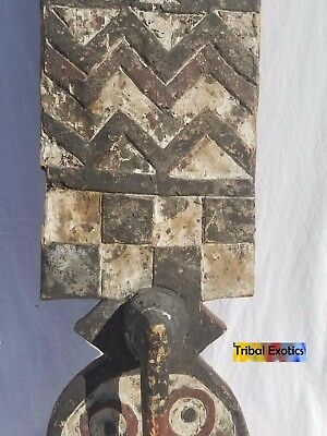 EXQUISITE Bwa Bobo Plank Mask Sculpture Statue Figure Fine African Art
