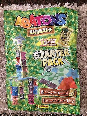 Panini Abatons Animals Starter Pack (8 abatons+1 abaton gold edition + extras)