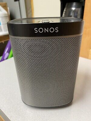 Sonos Play 1 Wireless Compact Streaming Smart Speaker Black Perfect Condition