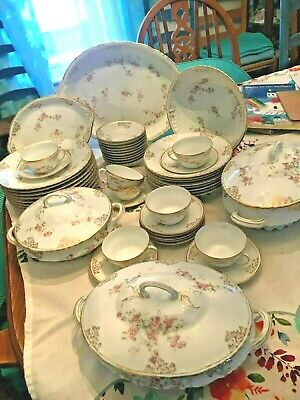 victoria china  australia 49 pieces.  GREAT FOR EASTER DINNER PRICE REDUCED