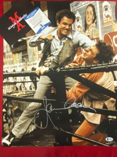 JAMES CAAN AUTOGRAPHED SIGNED 16x20 PHOTO! THE GODFATHER! BECKETT COA! SONNY!