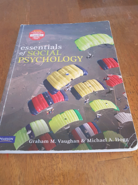Essentials of social psychology vaughan hogg textbooks essentials of social psychology vaughan hogg textbooks gumtree australia penrith area st clair 1189188460 fandeluxe Gallery