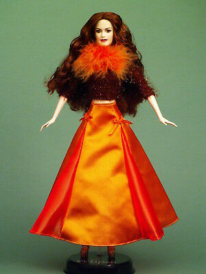 Victoria Barbie Doll Twilight in Modern Hip Autumn Colored Outfit for Halloween