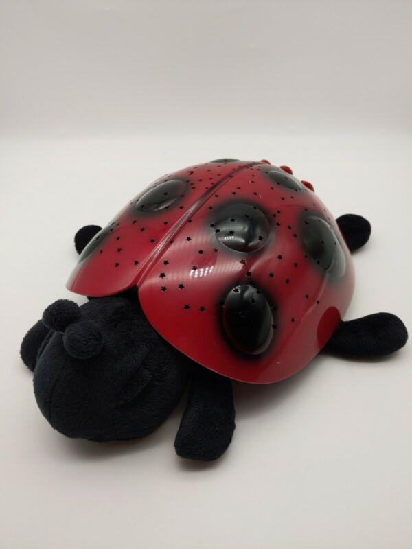 "Cloud B Lady Bug Light Projector Toy Plush 11"""
