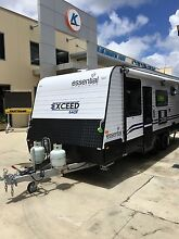 2016 Essential Exceed 640F   FAMILY CARAVAN Tanah Merah Logan Area Preview