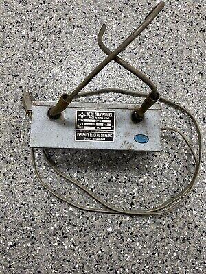 Vintage Neon Sign Transformer Everbrite T7512w 7500 60hz A Working